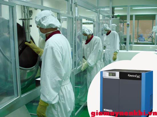 máy nén khí kobelco