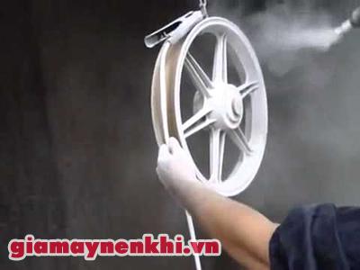 Ứng dụng của máy nén khí trong bảo dưỡng xe
