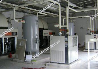 Người dùng cần chú ý lắp đặt máy nén khí trục vít ở nơi khô ráo, thoáng mát