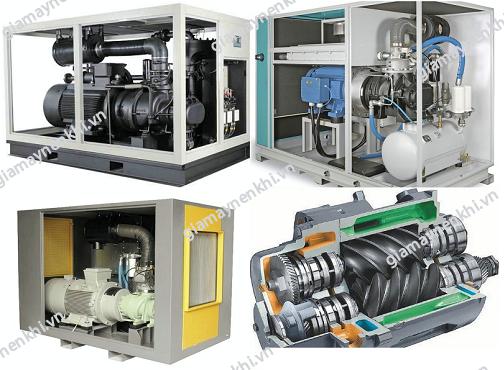 Giá máy nén khí trục vít luôn cao hơn máy nén khí piston