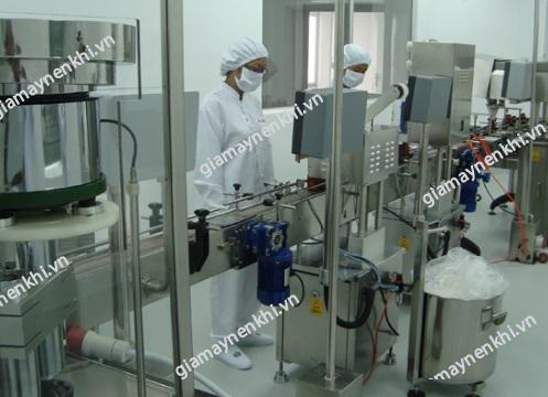 Máy nén khí đóng vai trò quan trọng trong sản xuất dược phẩm