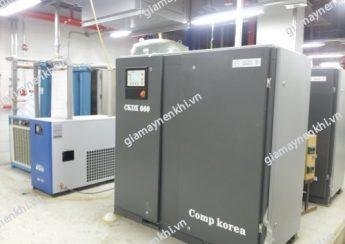 Người dùng nên cẩn trọng khi chọn mua và sử dụng máy nén khí Compkorea giá rẻ