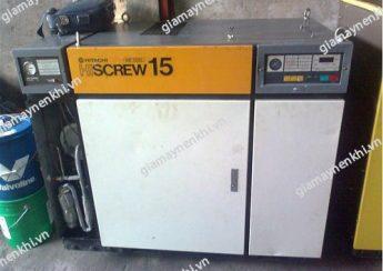 Khi mua máy nén khí trục vít cũ, người dùng cần kiểm tra kỹ chất lượng bên trong, xuất xứ máy,...