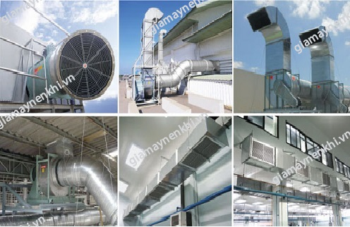Người dùng cần chú ý tới hệ thống thông gió, làm mát máy nén khí để tiết kiệm điện năng