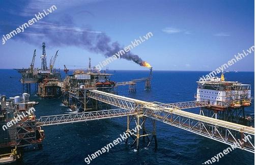 Máy nén khí được ứng dụng hiệu quả trong ngành khai thác dầu khí
