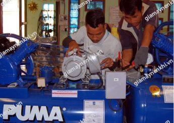 Bảo dưỡng máy nén khí Puma định kỳ là quy tắc cơ bản để nâng cao tuổi thọ máy