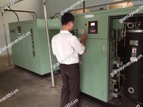 Trước khi sử dụng máy nén khí công nghiệp, người dùng nên kiểm tra máy