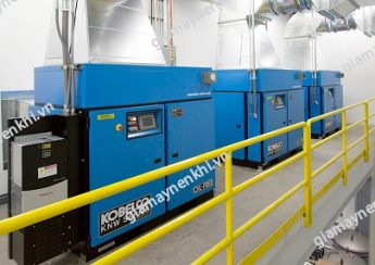 Máy nén khí trục vít không dầu phù hợp sử dụng cho nhà máy sản xuất dược phẩm