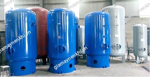 Người dùng cần lưu ý khi lựa chọn và sử dụng bình chứa khí máy nén khí