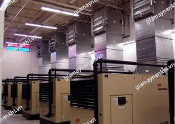 Phòng đặt máy nén khí cần đảm bảo những tiêu chuẩn nhất định để tránh phát sinh lỗi nhiệt độ máy nén khí tăng cao