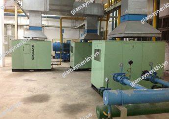 Hệ thống làm mát đóng vai trò quan trọng đối với hoạt động của máy nén khí trục vít
