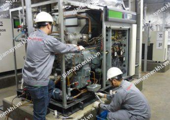 Vào mùa đông, người dùng vẫn cần chú ý bảo dưỡng máy nén khí