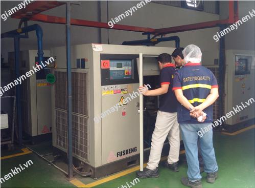 Người dùng chú ý khởi động máy nén khí trục vít theo đúng quy trình, nắm được những lưu ý quan trọng