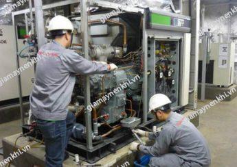 Nhiệt độ môi trường đặt máy có thể ảnh hưởng tới chất lượng dầu máy nén khí