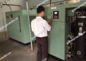 Người dùng cần theo dõi, kiểm tra áp suất máy thường xuyên để có sự điều chỉnh phù hợp, tránh lãng phí năng lượng