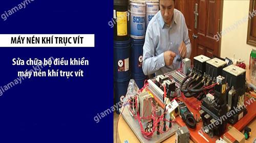 Sự cố hỏng hóc ở bộ điều khiển là một trong những sự cố nghiêm trọng ở máy nén khí trục vít