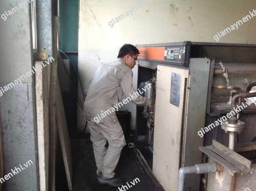 Tình trạng tụt áp khi vận hành hệ thống máy nén khí là tình trạng khá phổ biến