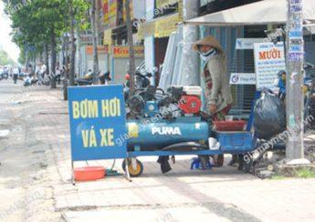 Máy nén khí piston được ứng dụng phổ biến trong các cửa hàng sửa chữa, garage xe,...