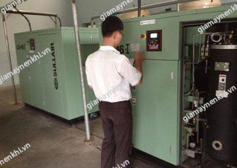 Người dùng nên ghi chép lại lịch sử hoạt động máy nén khí