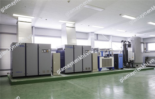 Người dùng cần chú ý lắp đặt máy nén khí trục vít tại phòng riêng, khô ráo, thoáng mát