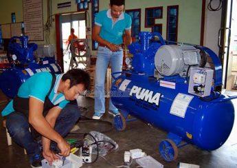 Cần chọn máy nén khí phù hợp cho tiệm rửa xe