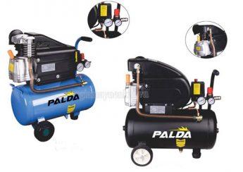 Máy nén khí Palda được sản xuất và lắp ráp tại Việt Nam