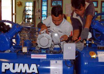 Kiểm tra máy nén khí trước khi vận hành