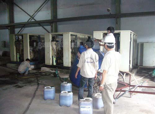 Bảo dưỡng máy nén khí vào mùa hè