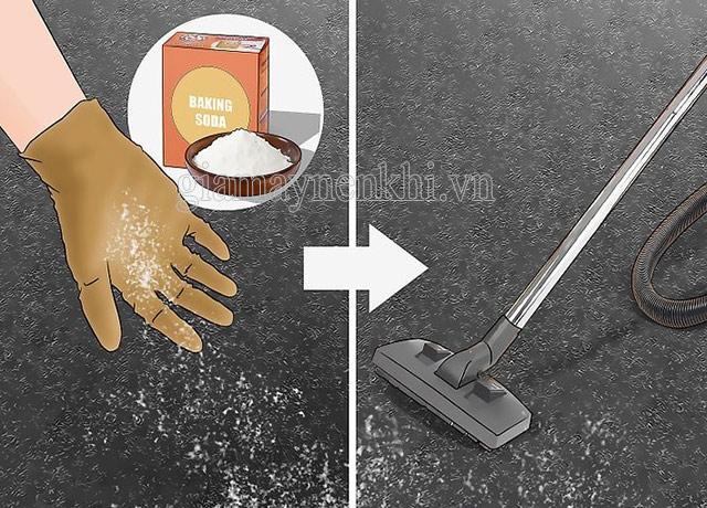 Cách vệ sinh các vết bẩn cứng đầu
