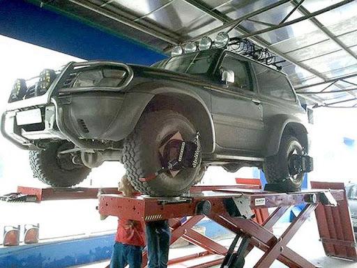 Căn chỉnh góc đặt bánh xe và đảo lốp