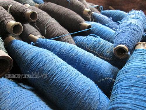 quy trình sản xuất sợi