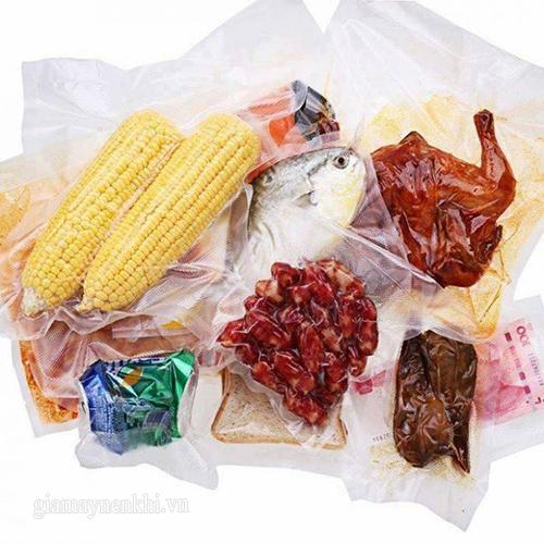 Sử dụng máy sấy khí trong hút trân không thực phẩm