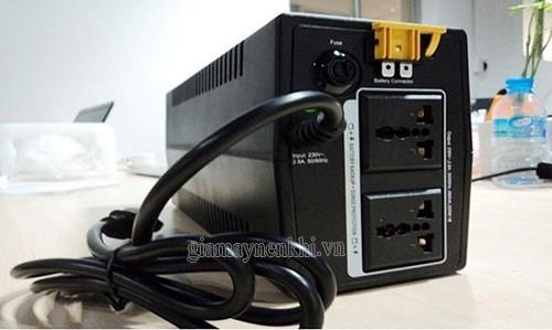 bộ lưu điện ups cũng là một giải pháp khi mất điện