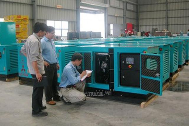 Kiểm tra hệ thống bình phát điện tại các cơ sở lớn