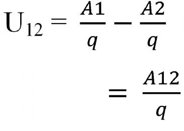 công thức tính hiệu điện thế của dòng điện