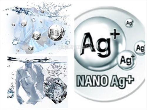 Công nghệ nano bạc được ứng dụng trong máy giặt