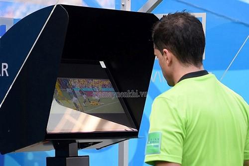 Sử dụng công nghệ var trong các trận đấu lớn