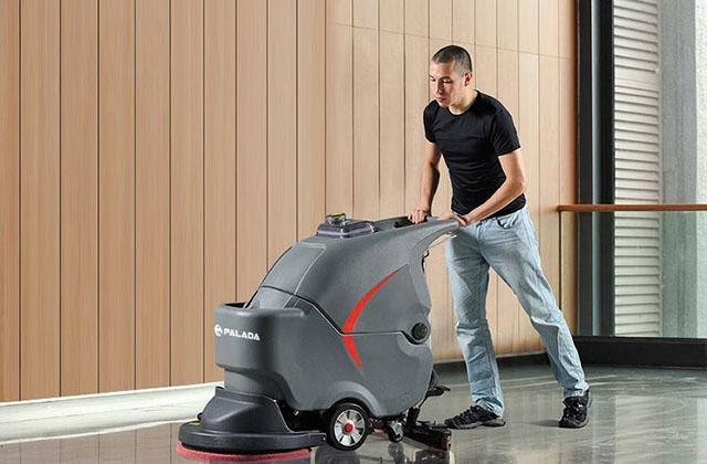 Máy chà sàn công nghiệp giúp tiết kiệm thời gian
