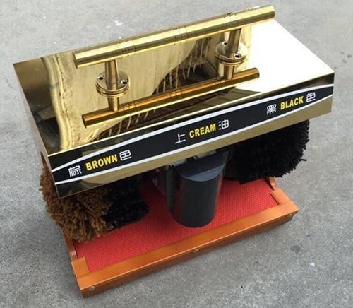 thiết kế cực sang trọng của máy đánh giày tự động