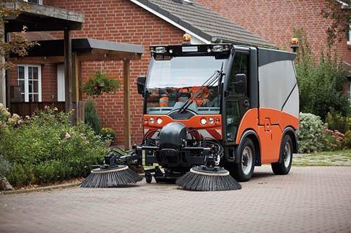 Thiết bị quét rác làm sạch bề mặt đường